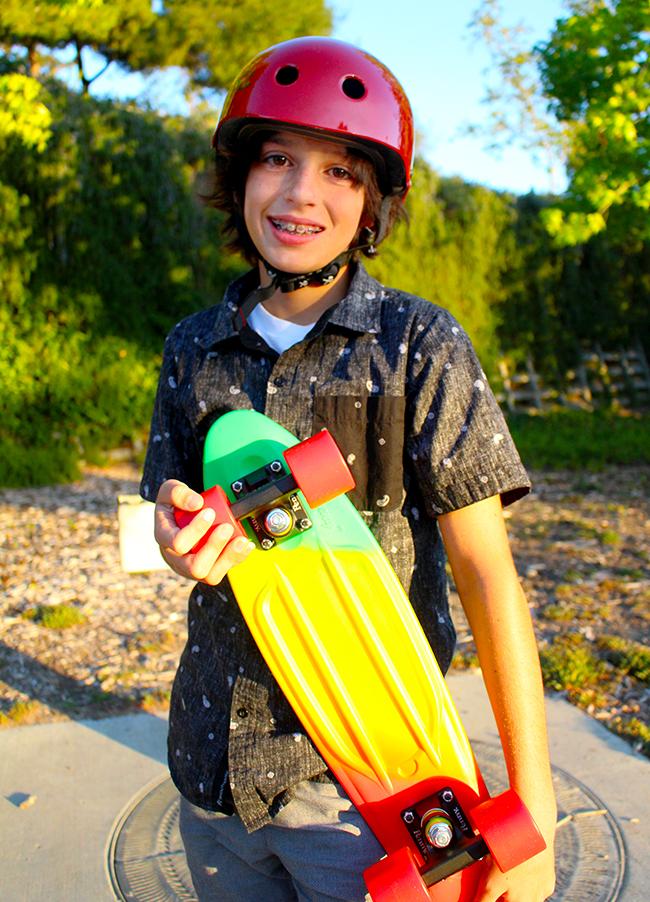 Rasta Penny Skateboard