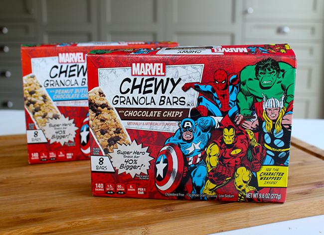 Marvel Chewy Granola Bars