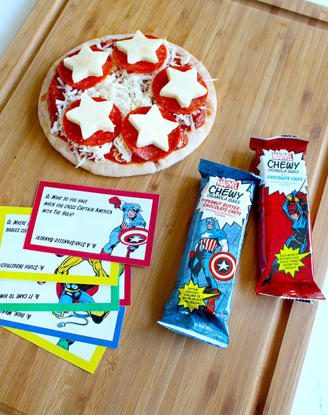 Superhero Lunch Box Printables