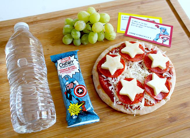Superhero Lunchbox Bento