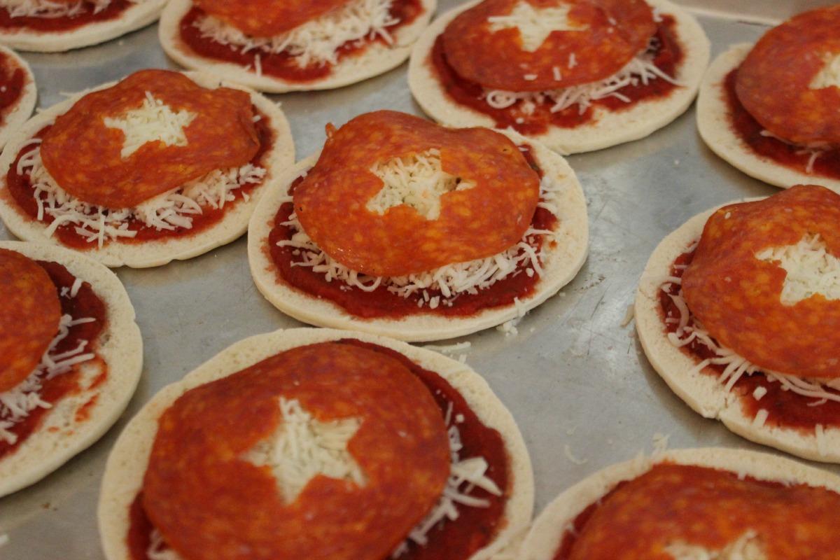 Avengers Captain America Pizzas