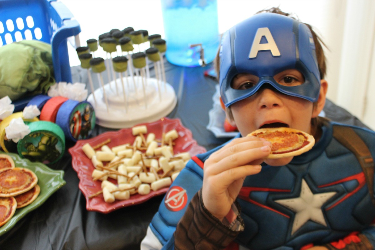 Avengers Party Guest