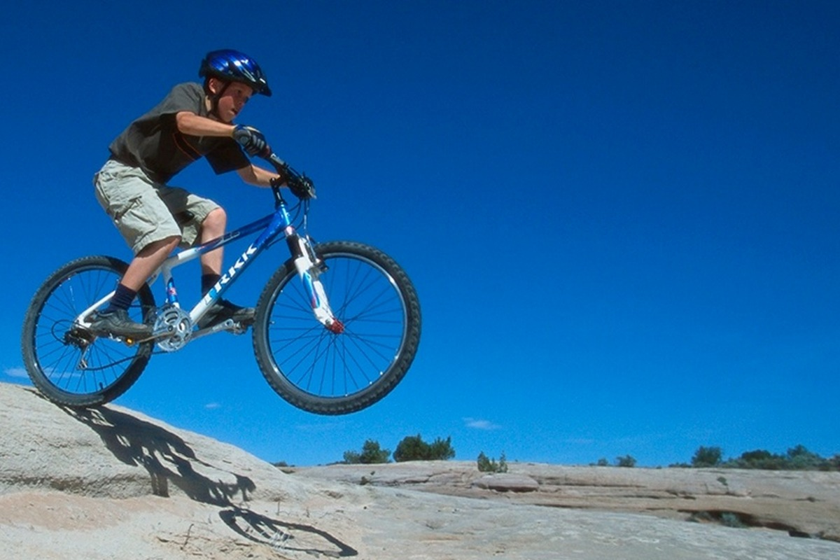 CLIF Kid Mountain Biking
