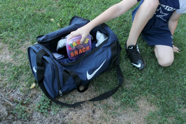Football Bag Snack Box