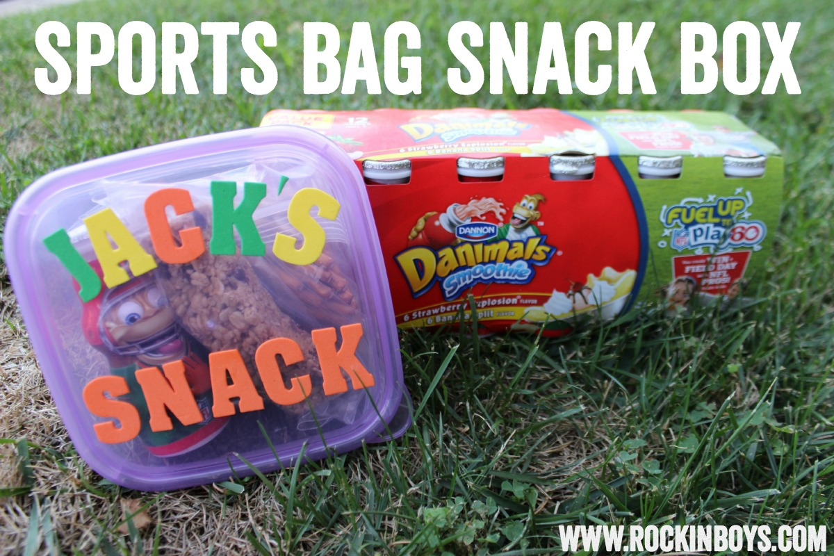 Sports Bag Snack Box